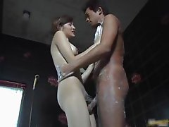 Hijiri kayama strokes cock with great part2