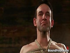 Jason Dirk in very extreme gay bondage part6