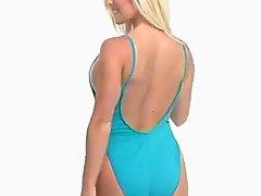 A fantasy of women in swimsuit