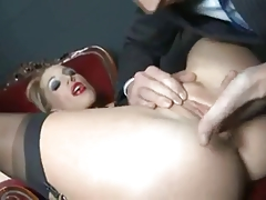 Hot blonde pt1(the foreplay)