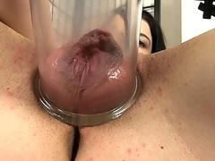 Multiple sex toys insertion