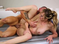 Lovely big tits Brett Rossi gets fucked