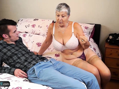 Granny Savana fucked with really hard stick_720p