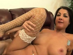 Hot cougar with monster melons gets nailed