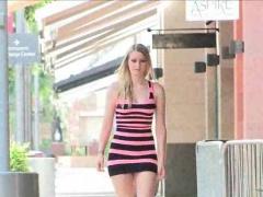 Summer Porn Upskirt in Public