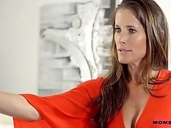 Horny step mom Sofie Marie is banging her handsome stepson