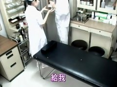 Doctor and a nurse are getting it done hidden camera sex vid