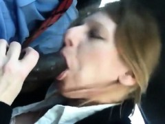 Milf Sucking BBC and Swallowing Cum