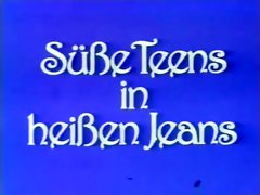 Vintage Susse girls in Heissen Jeans