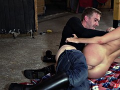 these two get really horny at the stable