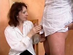 Horny Homemade record with Brunette, European scenes