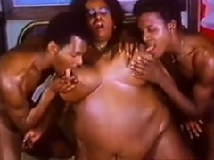 Fat Black Slut Craves Big Black Cock