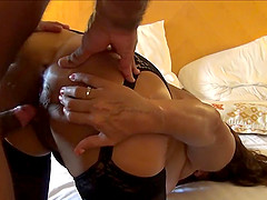 Chubby Horny Wife Pleasing Cock