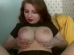 Very hot busty babe with pink pussy enjoys hard cock