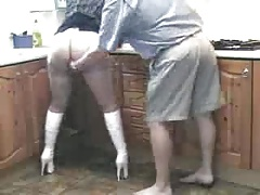 bitch gets spanked