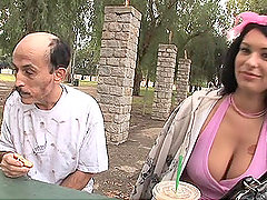 Kitty Bella Loves Old Men With A Big Long Cock
