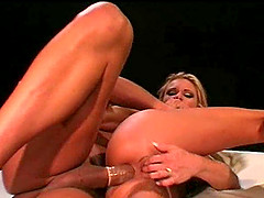 Yells as Dolorian tight anal gets widened hardcore