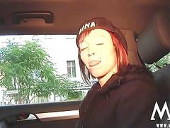 MMV FILMS Redhead Gina with an amateur couple