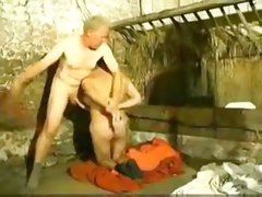 Male and female get fucked by their master.