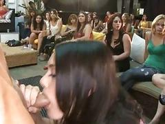 Sexy strippers get their sexy jocks devoured
