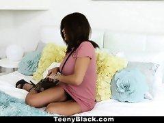 TeenyBlack - Bodacious Teenie Aaliyah Hadid Gets Poked
