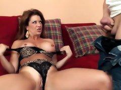 Crazy pornstar in amazing cumshots, cunnilingus porn clip