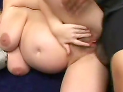 Naughty hot ass sluttie Alyssa West plays with huge dick in hot blowjob scene