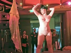 Burlesque Strip SHOW 39 Elektra Cute