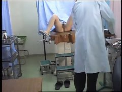 Hot pussy drilling in a perverted medical fetish video