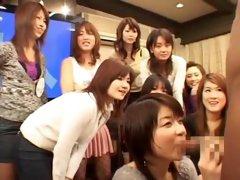 Best Japanese girl Karin Mikino in Hottest Public, Blowjob JAV scene