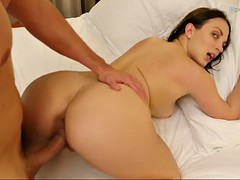 curvy lily love gets fucked in the end of a romantic date