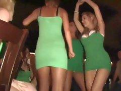 Crazy pornstar in horny blonde, striptease porn movie
