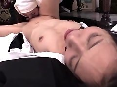 Best Japanese chick in Exotic Lesbian, Small Tits JAV clip