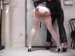 Spanked in Stockings