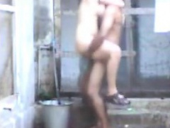 Horny Indian Aunty Fucking And Bathing