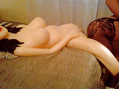 more love doll sex with cilikon doll and amateur shemale