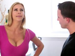 Lazy Stepson Gets Fucked By Alexis Fawx And Loves It