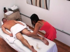 Lascivious dude getting the very best massage of his life