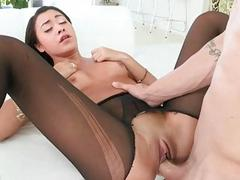 Hot ass Marina Angel facial by big dick