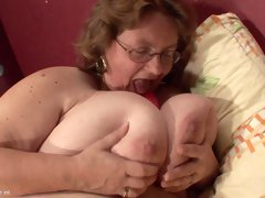 Rienie is a woman with glasses in need of a red love toy