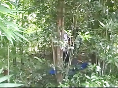 Hmong Thai Sex in the Forest