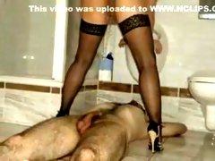 Crazy amateur Fetish porn movie