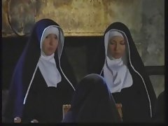 The nun's true foolery