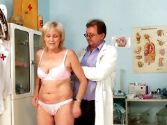 Full gyno exam for horny Brigita