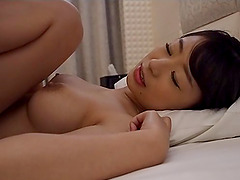 Saki Hatsumi wants to feel a fat rod deep inside her twat