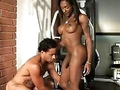 Mesmerizing black shemale can't remember being fucked harder than this