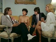 French Classic Retro Group Sex