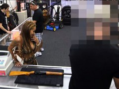 Big boobs slut fucked by nympho pawn man to earn more money