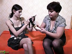 Watch xxx video with lusty lesbians who love to use strapon a lot