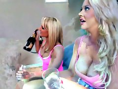 Incredible pornstar Mattie Borders in crazy small tits, group sex porn movie